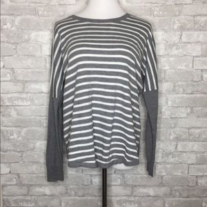 🎉French Connection striped long sleeve sweater A6